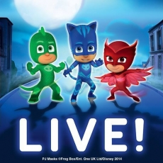 PJ Masks LIVE! Time To Be A Hero