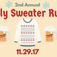 2nd Annual Ugly Sweater Run / Walk & Toys for Tots Drive