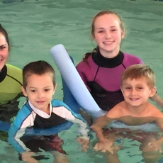 Swim Lessons with Bluefish Swim Club
