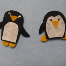 Penguin and Polar Bear Finger Puppets Workshop