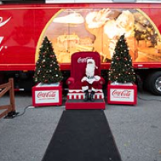 Brookline-Norwood, MA Events for Kids: Coca-Cola Holiday Caravan