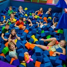 Jump, Flip & Tumble Parties: Ages 18 Mos.+