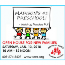 Orchard Ridge Nursery School Open House