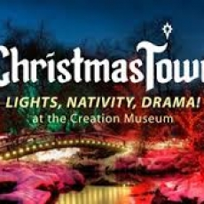 Chrstmas Town at the Museum