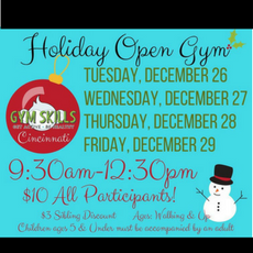 Special Holiday Open Gym (Just Drop-In)!