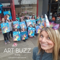 Art Buzz Kids Party