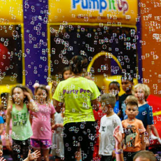 Bubble Birthday Party at Pump It Up