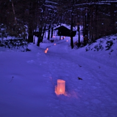 Lake George-Saratoga Springs, NY Events for Kids: Candlelight Ski and Snowshoe