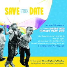 The 5th Annual SoCalMoms Great Big Family Play Day