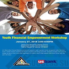 Youth On The Move - Financial Empowerment Workshop (For MS & HS students)
