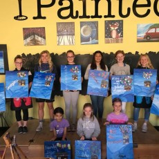 Folsom-EDH, CA Events: Painting Class: Moonlit Dolphin
