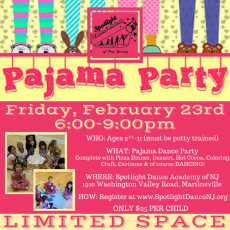 Pajama Party- Parents' Night Out!