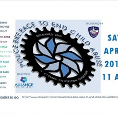 Police Bike Race to End Child Abuse