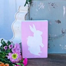 Family Mini Makers EASTER and SPRING Mini Block Sign Workshop