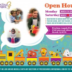 Open House at Precious Angels Preschool