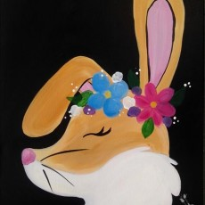 Kids Get Ready for Easter:Flower Crown Bunny