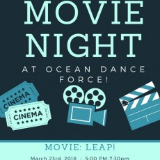 1st Annual Movie Night!