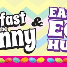 Breakfast or Lunch with the Easter Bunny!