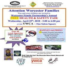 Things to do in Worcester, MA: FREE Health & Safety Fair