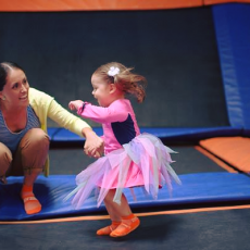 Things to do in Lake George-Saratoga Springs, NY for Kids: Toddler Time, Sky Zone Queensbury