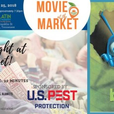Movie Night at the Market - Featuring: A Bugs Life
