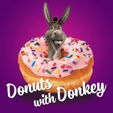 Shrek The Musical -- Donuts with Donkey!!!