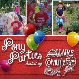 Allaire Community Farm: Pony Party on the Farm