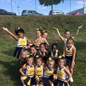 North Providence Jets 8U Cheerleaders