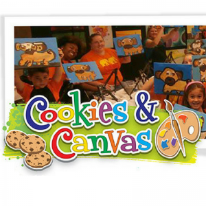 Wine and Canvas & Cookies and Canvas: Cookies & Canvas Party!