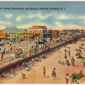 Seaside Heights Beach & Boardwalk