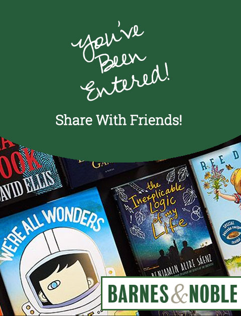 Win a $200 Gift Card to Barnes and Noble