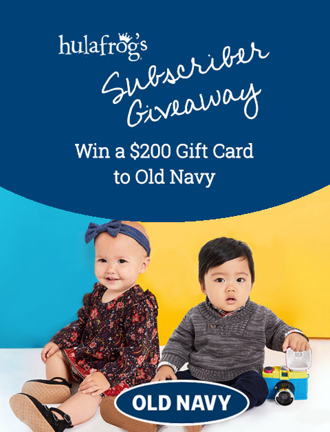 Win a $200 Gift Card to Old Navy