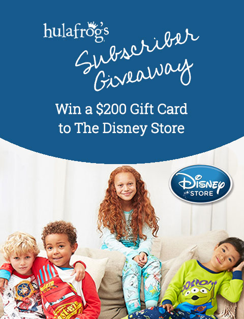 Win a $200 Gift Card to The Disney Store