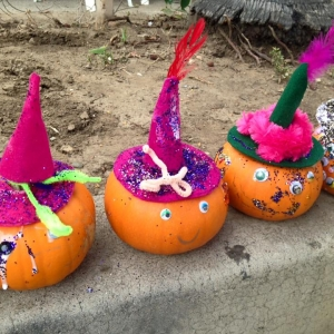 Pumpkin Decorating in Santa Monica!