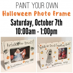 Melrose Somerville Ma Hulafrog Paint Your Own Halloween Frame
