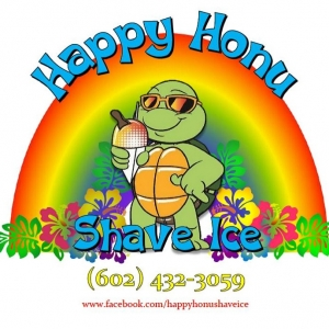 Happy Honu Shave Ice