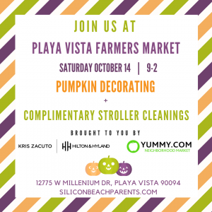 Playa Vista Farmers Market Halloween Fun