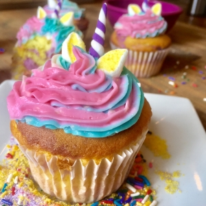 Unicorn Cupcakes Workshop (ages 2-5 with caregiver)