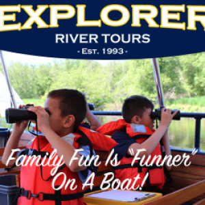 Things to do in Plymouth-Middleborough, MA for Kids: Explorer River Tours, Explorer River Tours