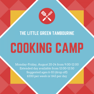 West Hartford-Farmington Valley, CT Events: Cooking Camp Ages 6-10
