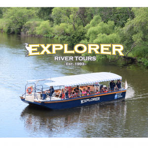 Things to do in Mansfield-Attleboro, MA for Kids: The Explorer's Silver Anniversary, Explorer River Tours