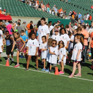 Things to do in Cincinnati Eastside, OH for Kids: Free Recess in the Stadium, Paul Brown Stadium