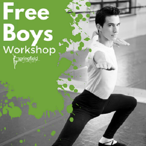 Things to do in Springfield, MO for Kids: Free Boys Workshop, Springfield Ballet