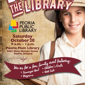 Things to do in Peoria, AZ for Kids: Explore the Library!, City of Peoria, Arizona