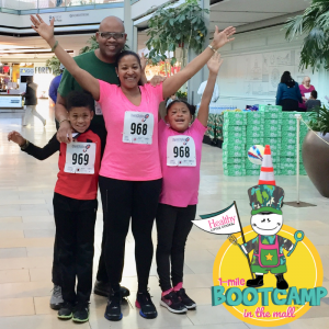 1-Mile Bootcamp in the Mall