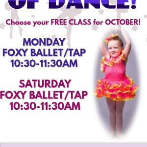 Southern Monmouth, NJ Events: FREE MONTH OF FOXY BALLET