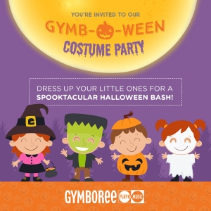 Things to do in Brookline-Norwood, MA for Kids: Gymbo-Ween Costume Party, Gymboree Play & Music, Needham