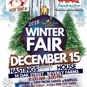Winter Fair, 2nd Toys for Tots fundraiser