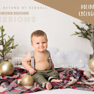 Things to do in Waukesha-Lake Country, WI for Kids: Holiday Studio Sessions, Birth & Beyond by Kendall