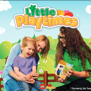 Little Playtimes Select Tuesdays in Dec.